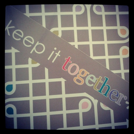 Sound advice. Even though this is actually a folder in my planner.